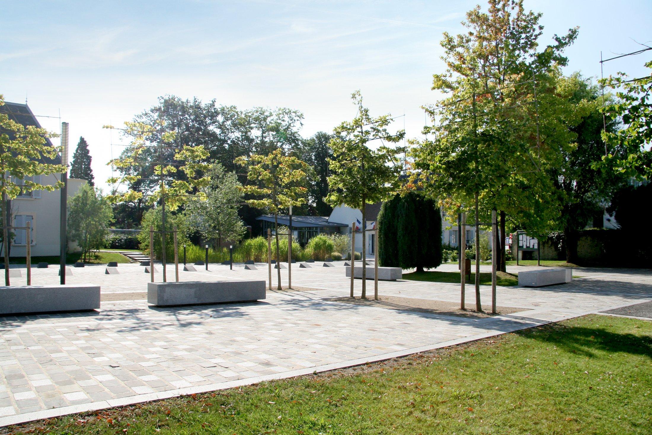 Ollainville place map m tropole architecture paysage for Paysage espace