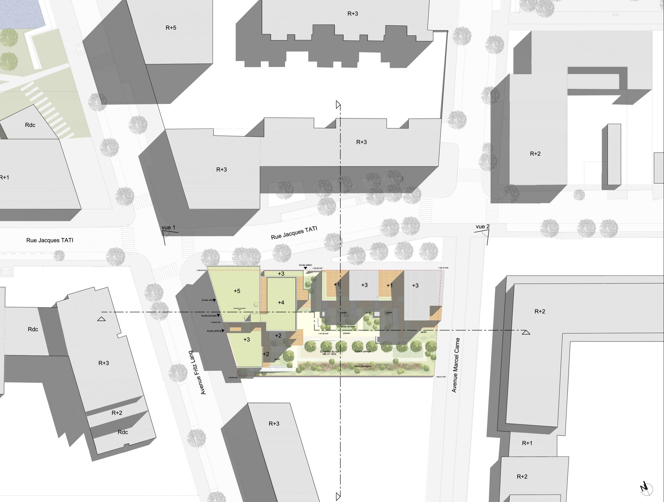 BOIS D'ARCY MAP Métropole Architecture Paysage # Allergologue Bois D Arcy